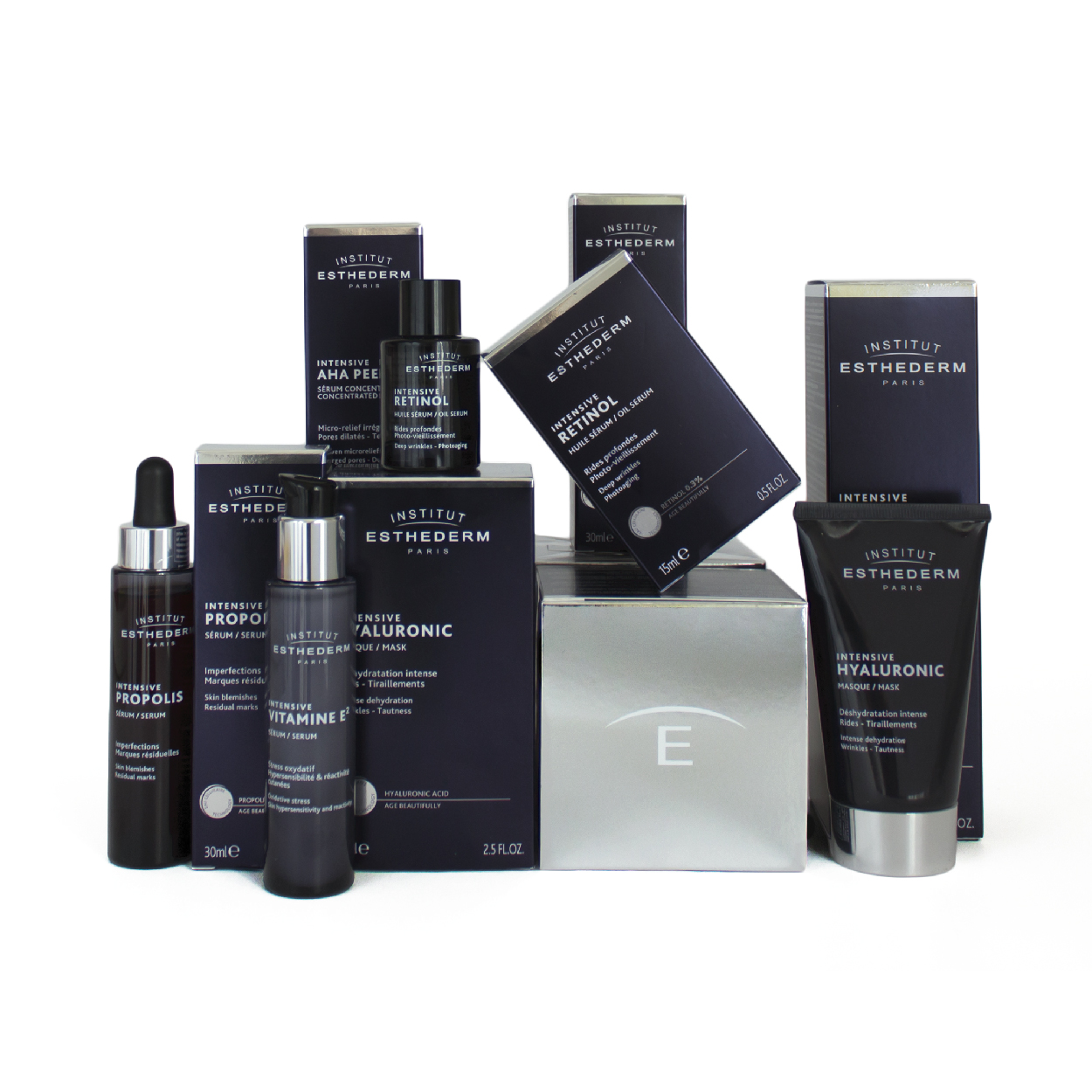 Packaging Branding packaging INTENSIVE ESTHEDERM création 1703 factory