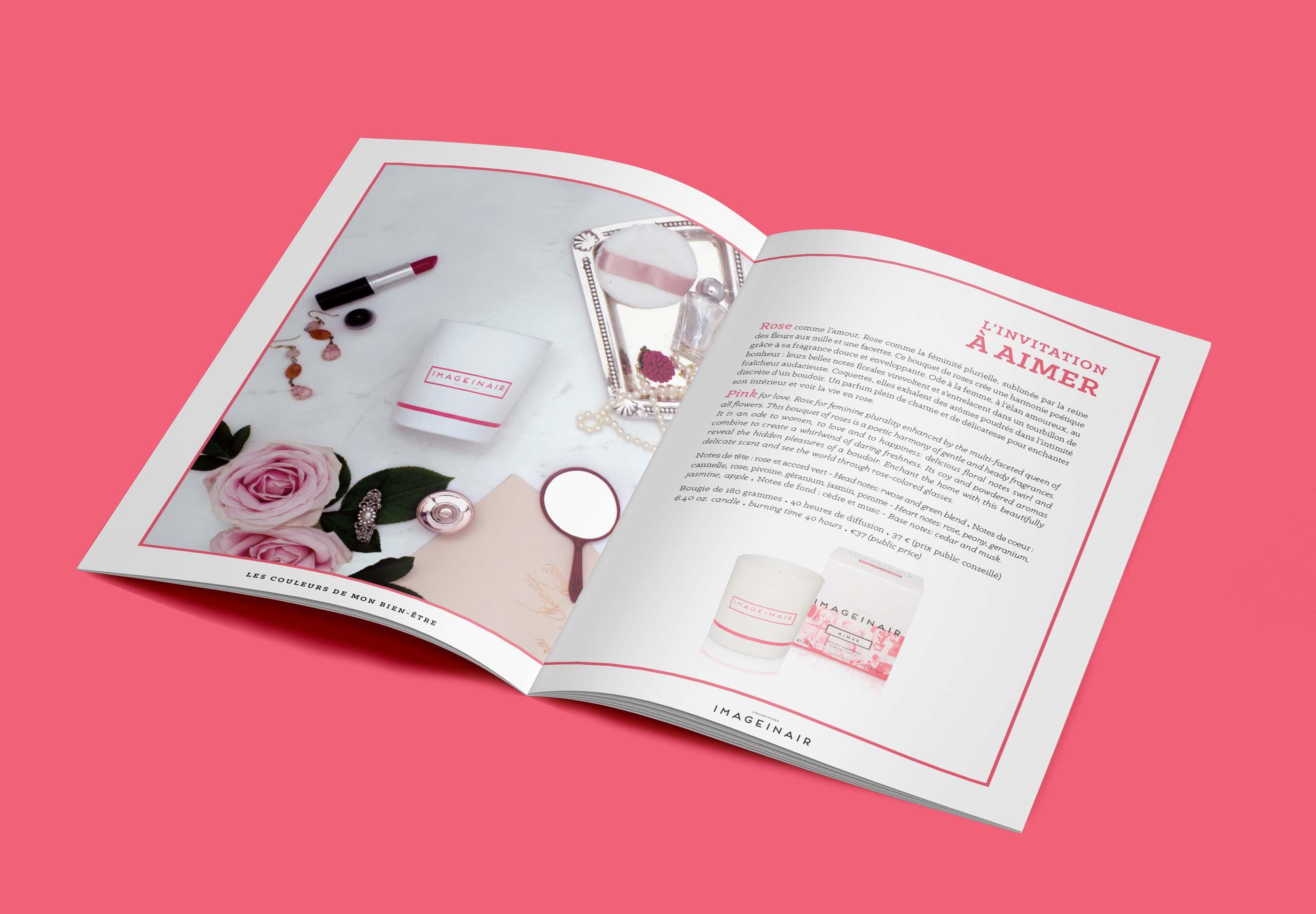 AIMER-Imageinair Paris bougies - création Dossier de Presse Brochure 1703- FACTORY