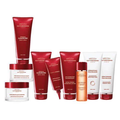 PAckaging Branding bodycare corps ESTHEDERM création 1703 factory