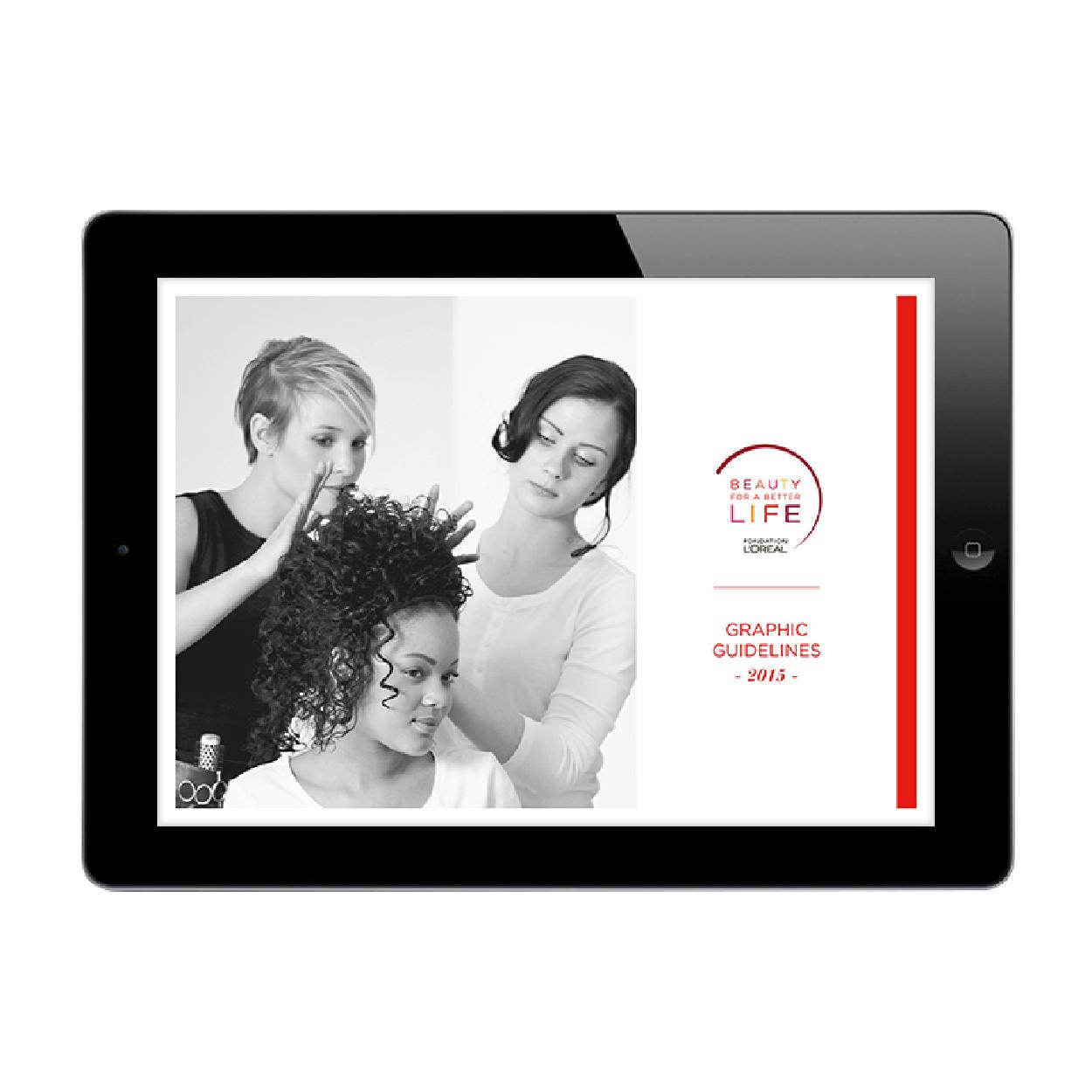 Charte Graphique Beauty For Better Life Fondation L'Oréal 1703 Factory