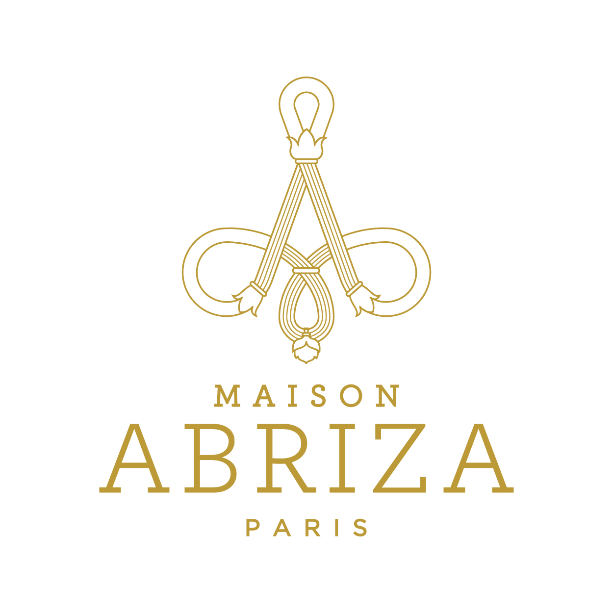 Création logo branding packaging art du parfuage MAISON ABRIZA PARIS