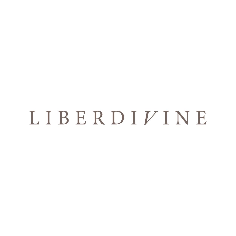 Création Logo LIBERDIVINE armagnac spiritueux 1703 Factory